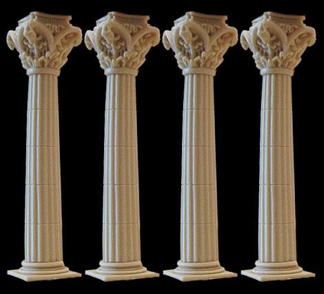 4-pillar_set