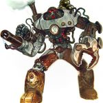 Fortune Hunter Mechanical Construct