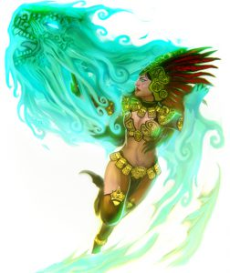 Amatzl Battle Sorceress
