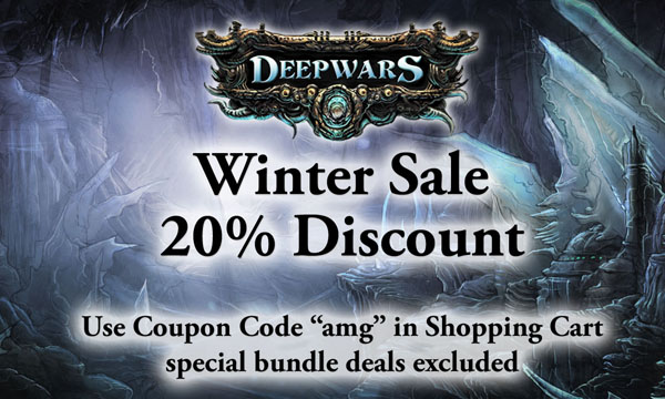 Winter Sale for DeepWars items