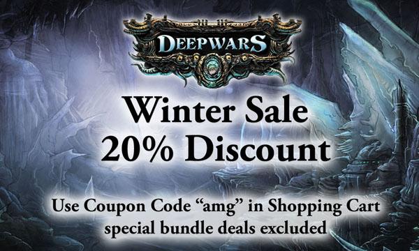 Winter Sale for DeepWars items
