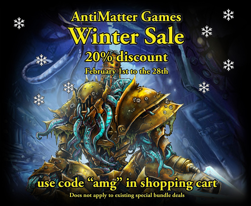 AntiMatter Winter Sale!