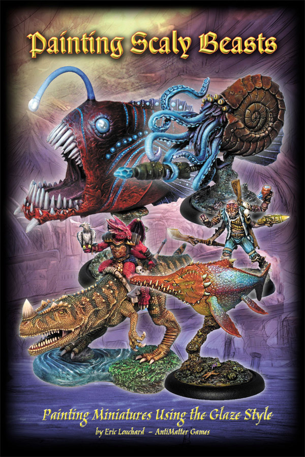 Painting Scale Beasts – PDF painting guide added to store