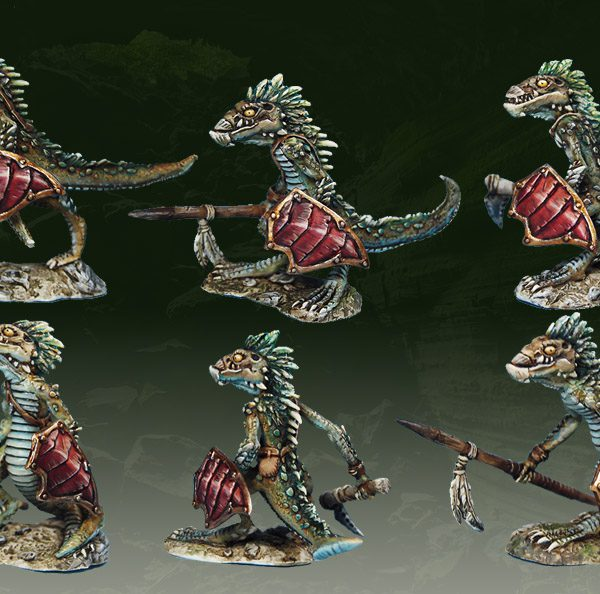 Troglodyte Warriors (3-pack)