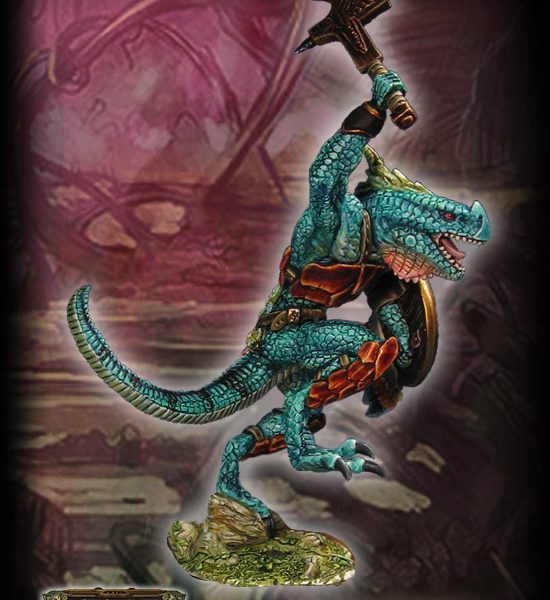 Coatlaxi – Lizardman Lord