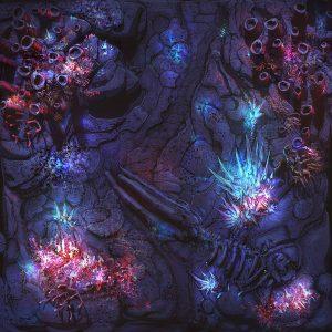 Game Mat – Abyssal 24×24