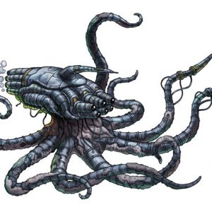 Octopod Stealth Biomech