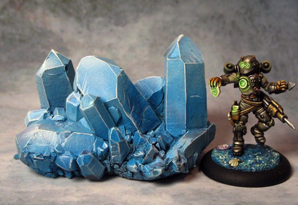 Crystal Outcropping