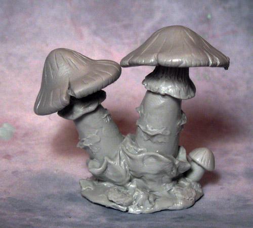 Double-Cap Mushroom