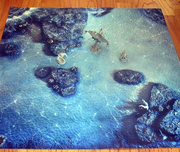 Game Mat – Reef 36×36
