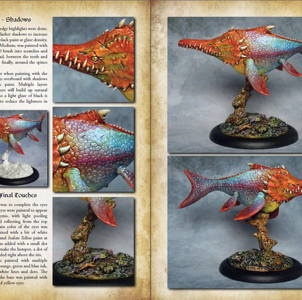 Painting Scaly Beasts Softcover