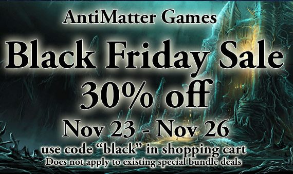 Black Friday Weekend Sale