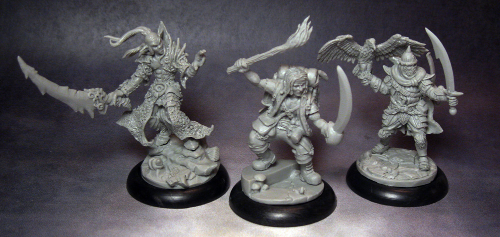 New Miniatures for ShadowSea
