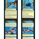 DeepWars Wild Sea Creatures 2.5 Cards